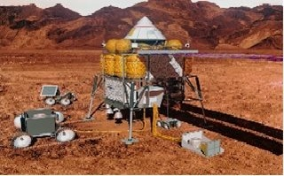 Research for NASA Mars Concepts